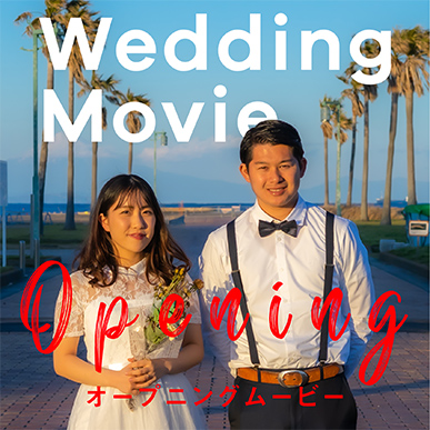【結婚式】オープニングムービー